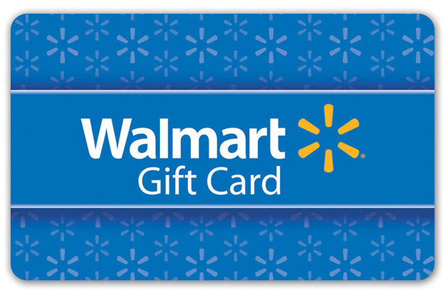 Lugares del 6 al 10 - Tarjeta de regalo de WalmartValorado en $50 cada uno