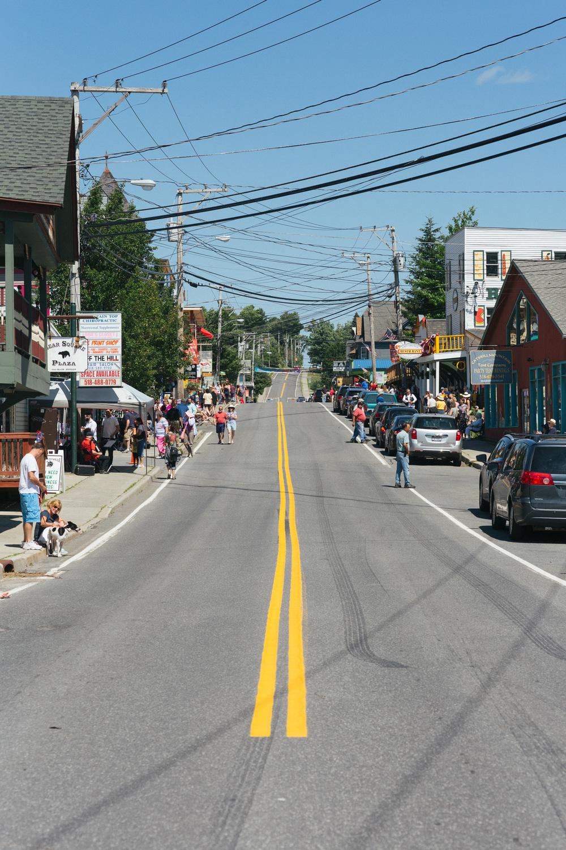 The scene on Main Street in Tannersville.jpg