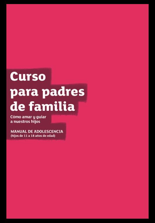 Manual delCurso de Padres con Hijos Adolescentes - Valor: 15.000