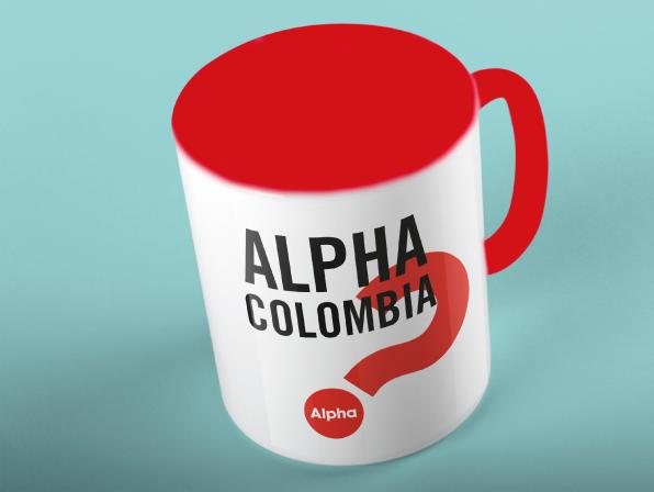 Mugs Alpha - blanco con rojo interior y oreja rojaValor: 15.000
