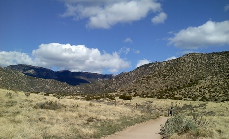 Bear Canyon, site of our greatest championship building runs