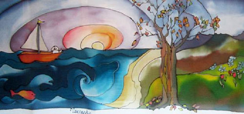 Karen Leonard Silk Painting email Images