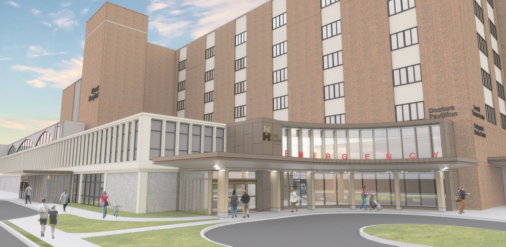 PDS' ED rendering for Nyack Hospital