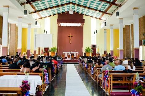 Inside St. Finbar's R.C.