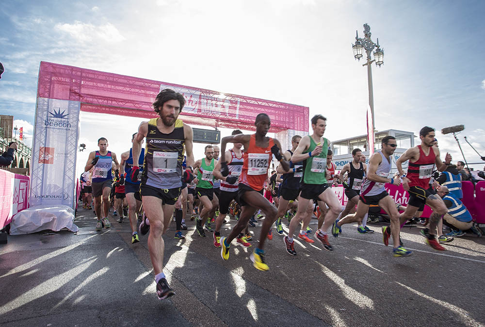 Vitality Brighton Half Marathon held on Sunday 22nd February 2015.