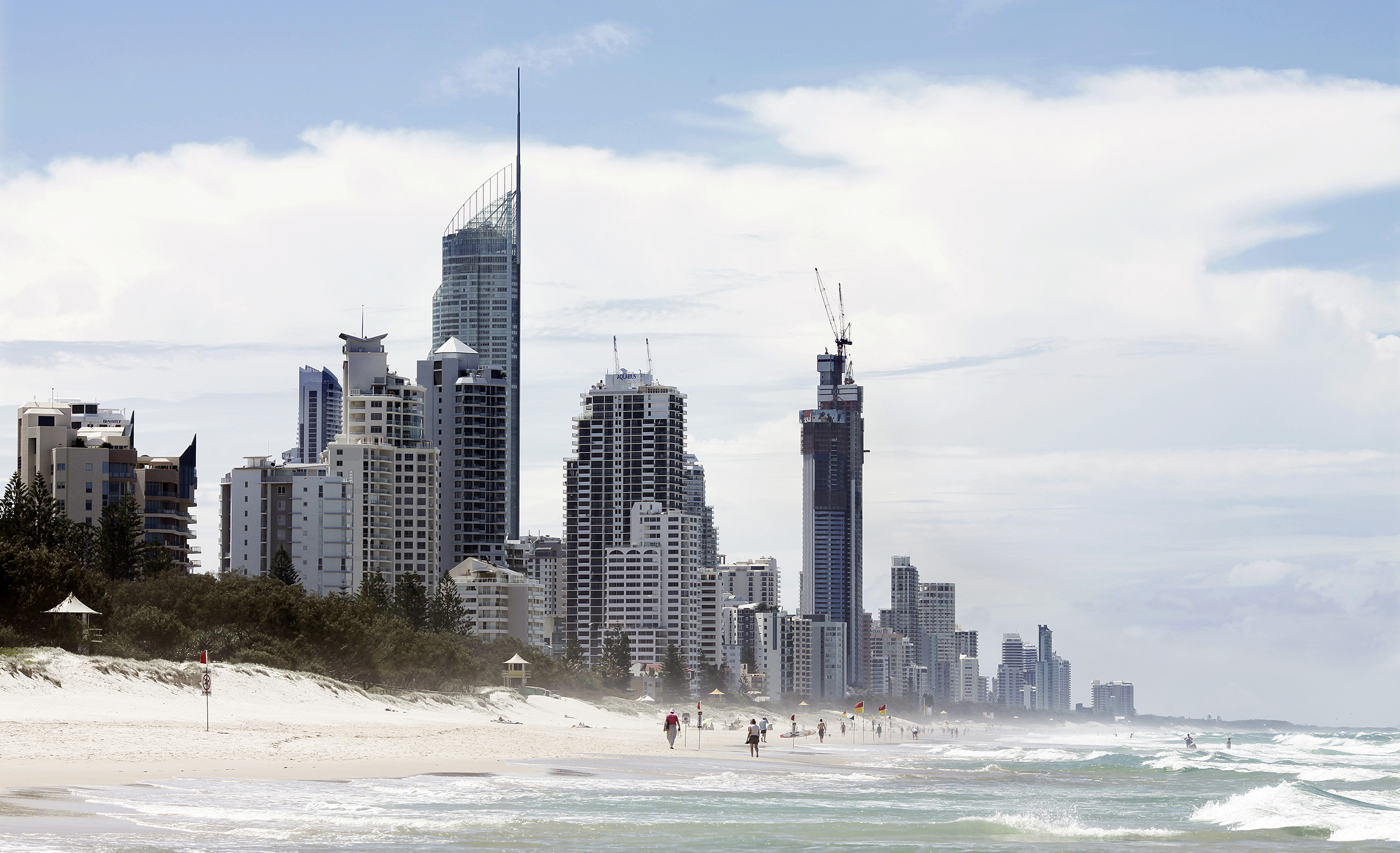 Gold coast skyline