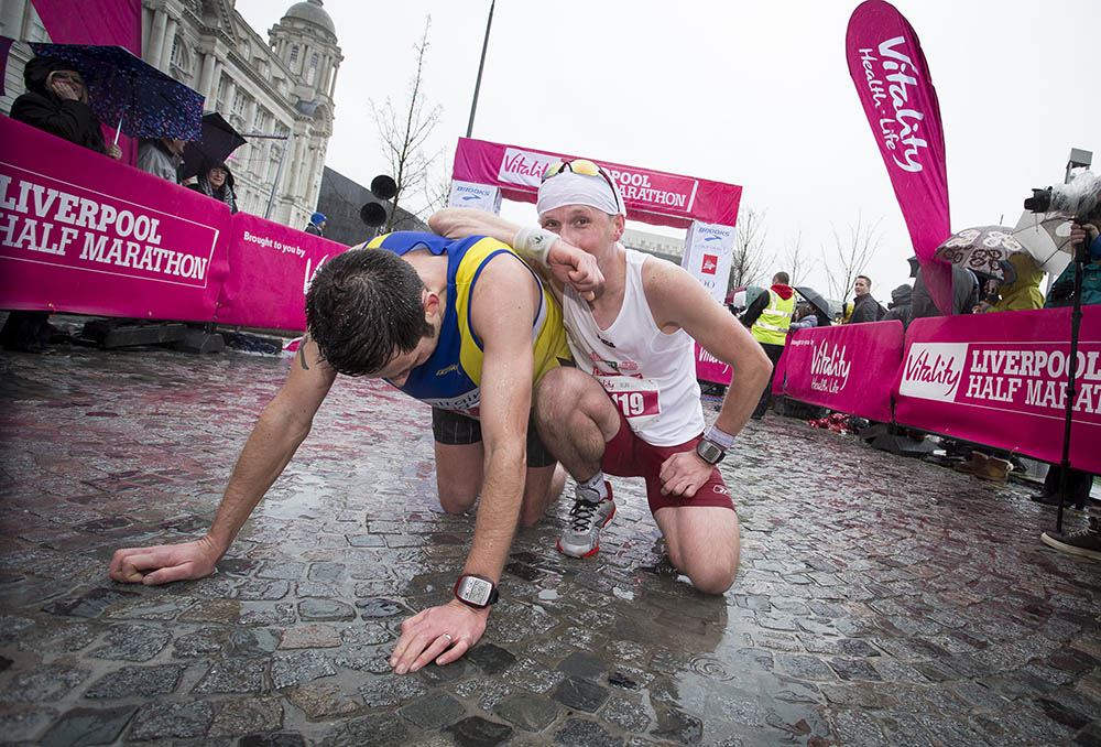 Vitality Liverpool Half Marathon. 29th March 2015.