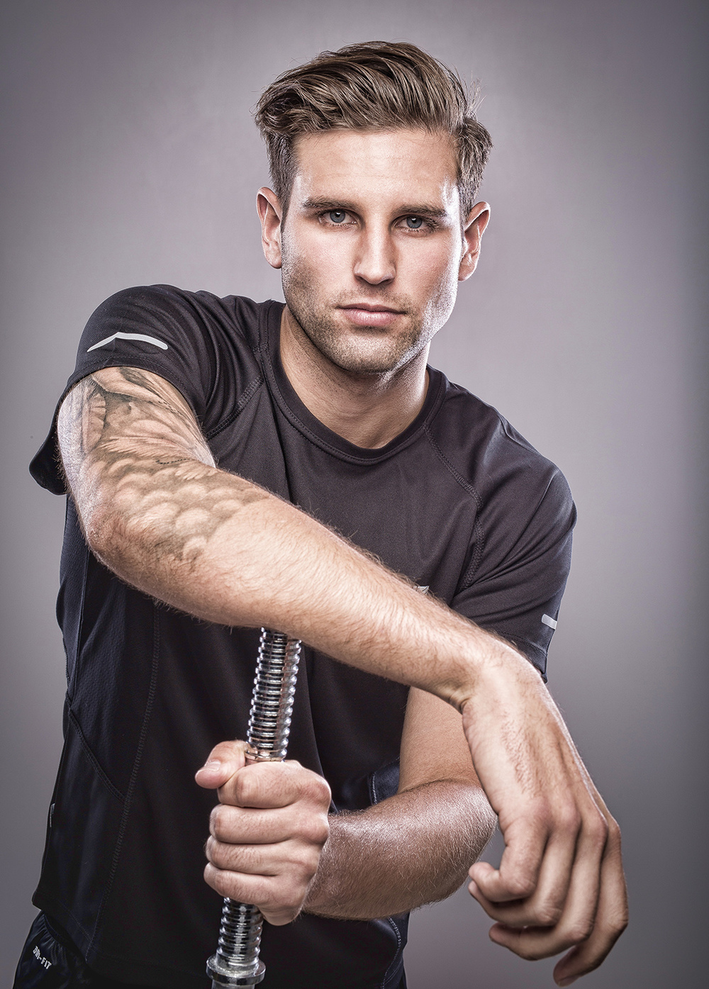 Jack Sikora sport shoot for BMA models