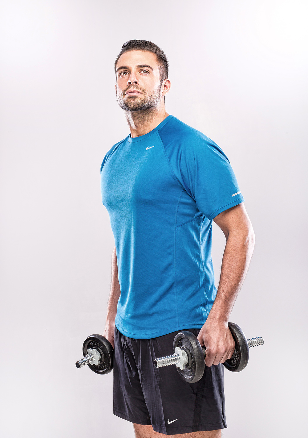 Karl Bowe sport shoot for BMA models