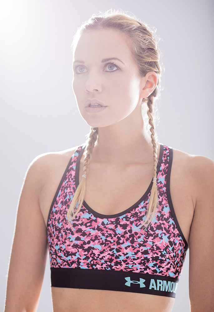 Catherine Lansdale sport shoot for BMA models