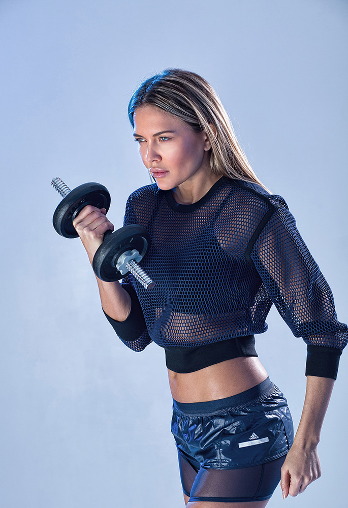 Tetyana Veryovkina sport shoot for BMA models.