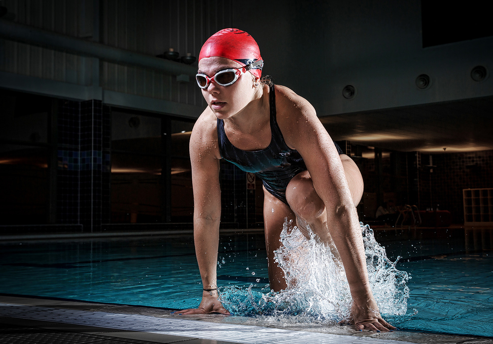 Triathelete Abi Schofield.