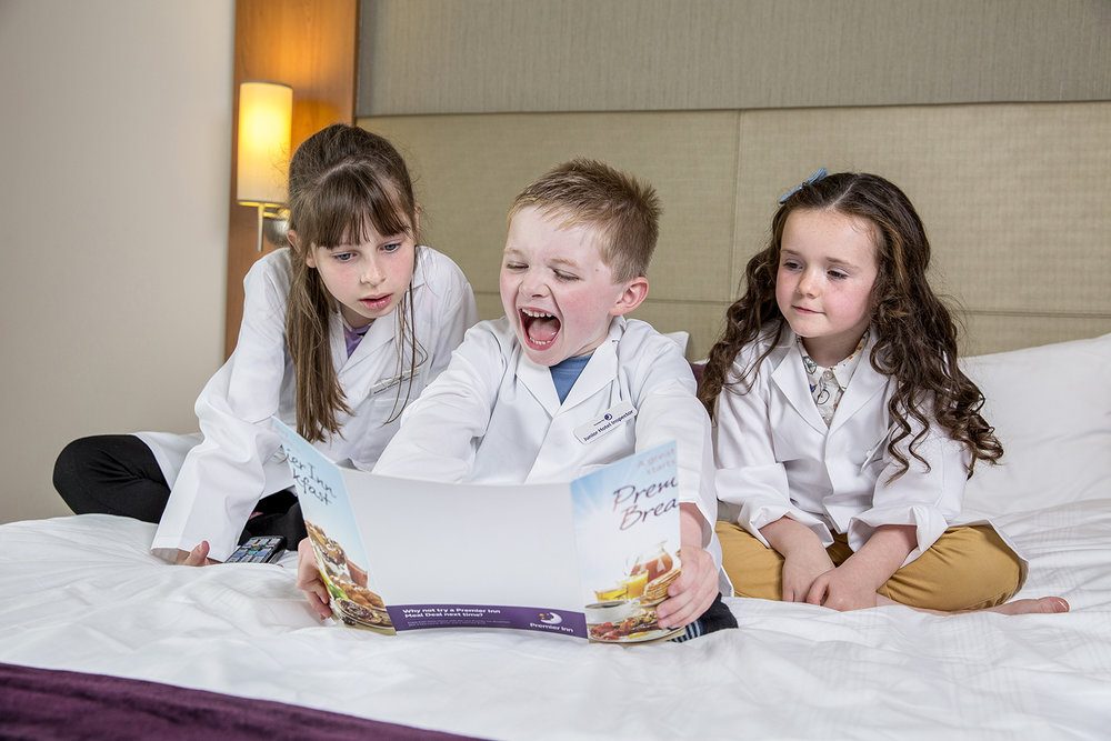 Premier Inn - Junior Hotel Inspectors.