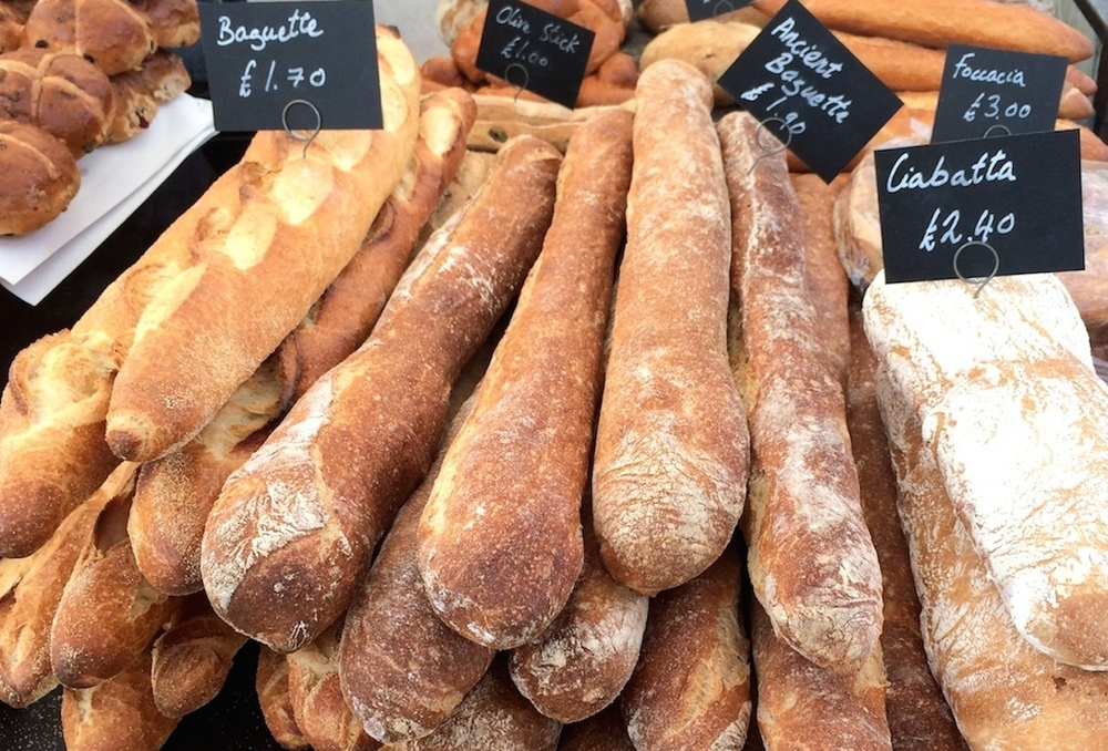 Bread at my local farmer's market