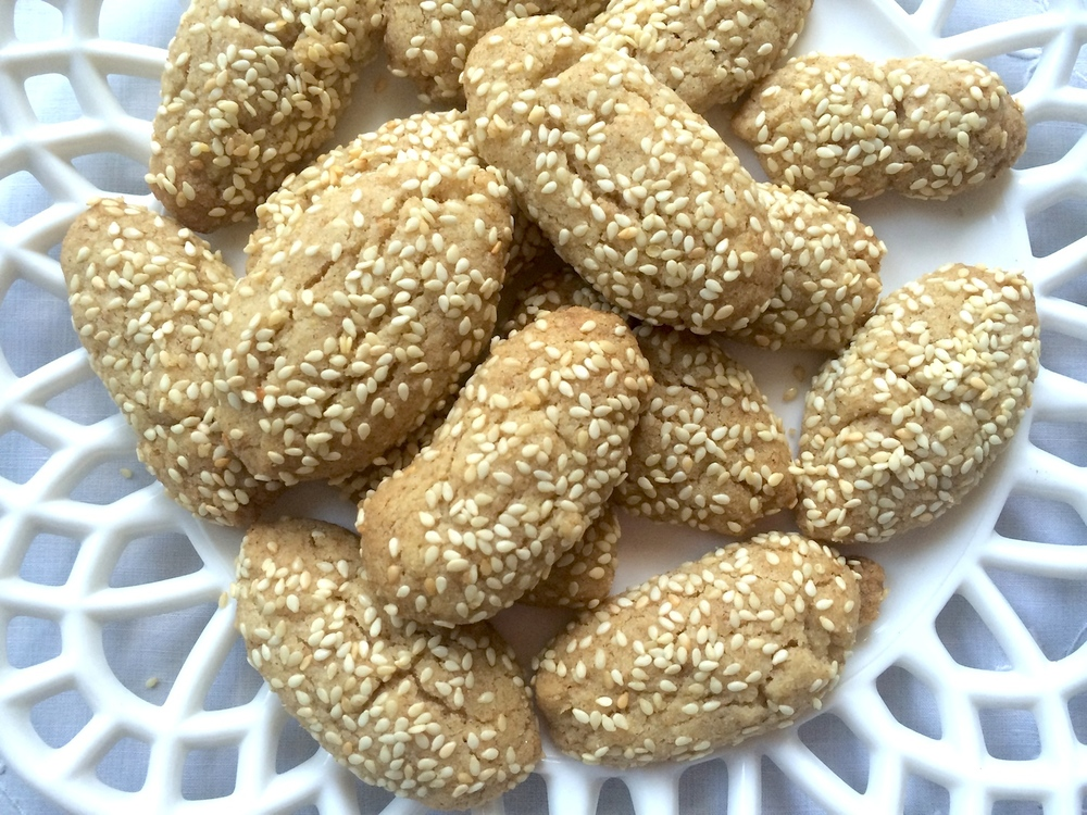 Elaine's mother's Italian Sesame Cookies