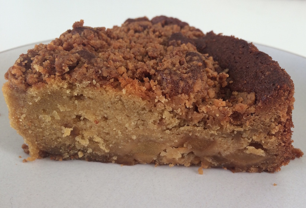 Original Hearth apple/pecan coffee cake