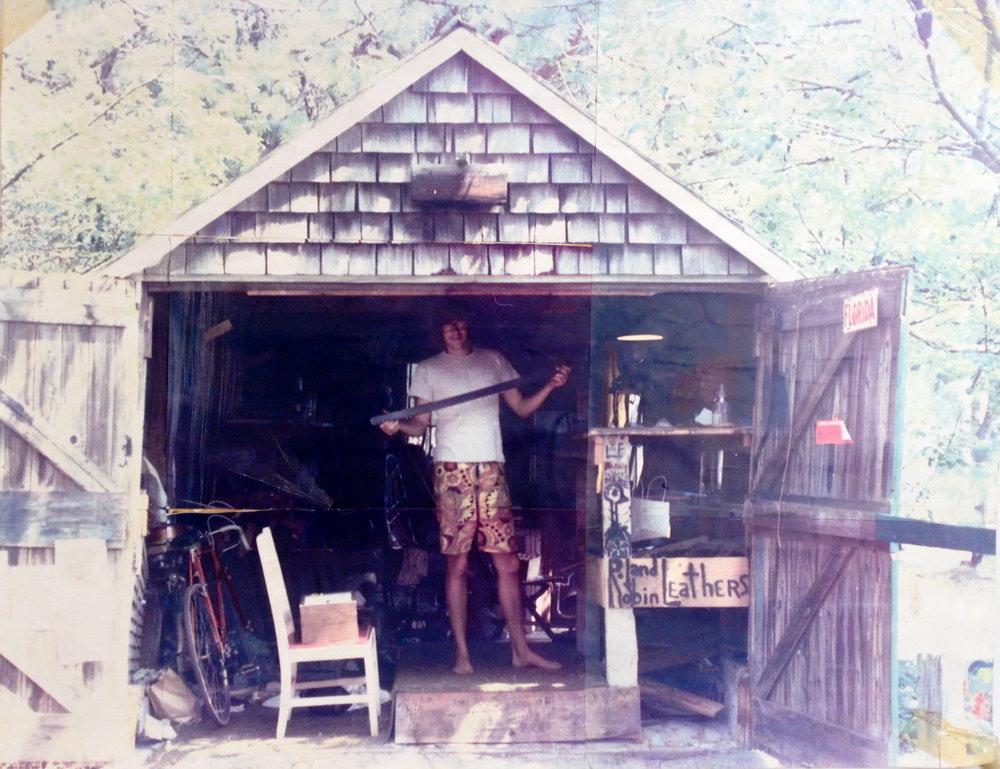 Roland Letendre, Lazy Leather 1976   Wellfleet, Cape Cod Massachusetts