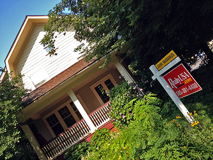 Tell your friends -- 27 Bellevue Drive is on the market! Great house! Great neighborhood!