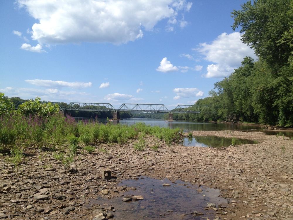 Delaware River in Frenchtown, NJ