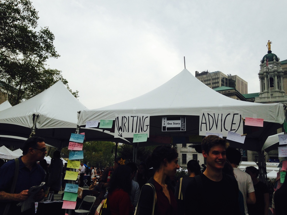 Inspiration for my future booth: Brooklyn Book Festival 2014