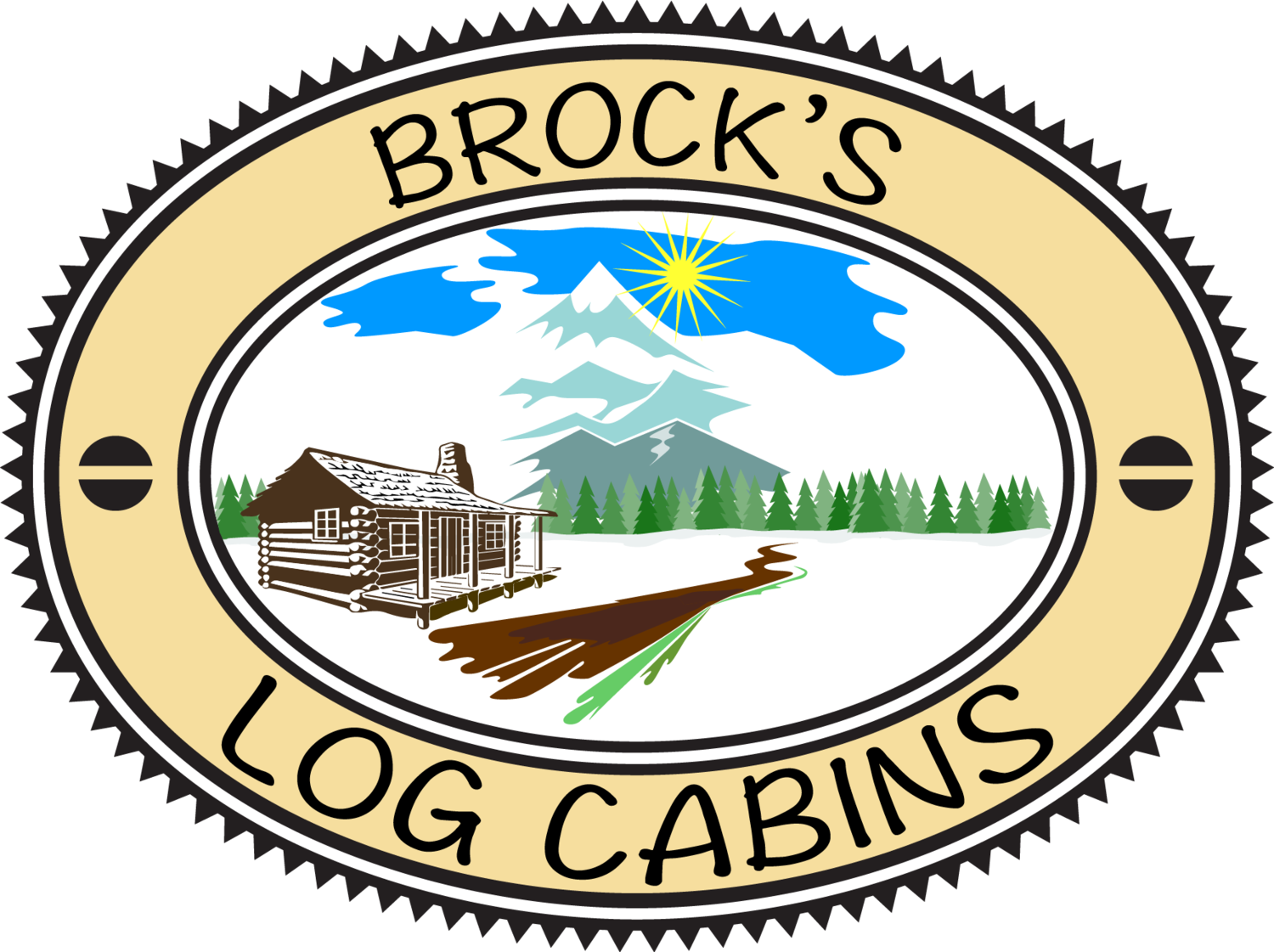 Brock's Log Cabins
