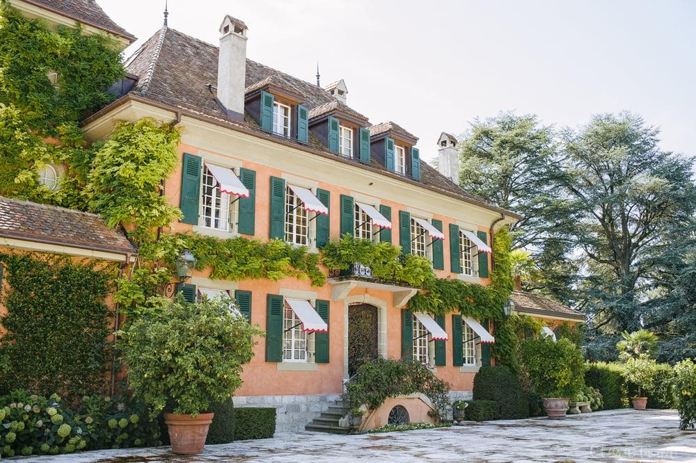 Caroline Scheufele's home, front entrance.