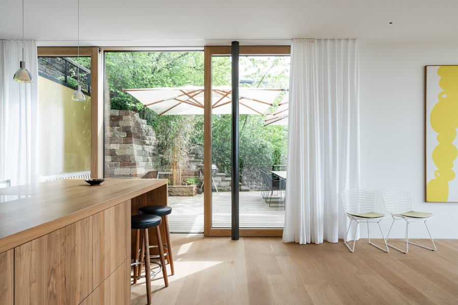 The kitchen area.CREDIT: Clara Tuma for The Wall Street JournalBALANCE_Behnisch