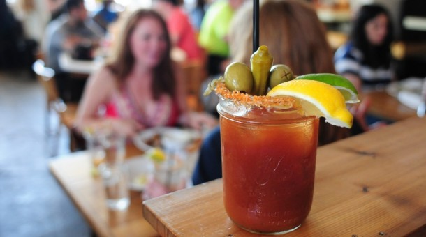 nodding donkey bloody mary brunch