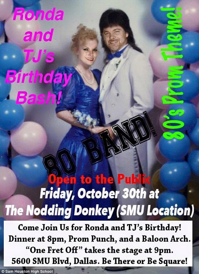 nodding donkey 80s prom