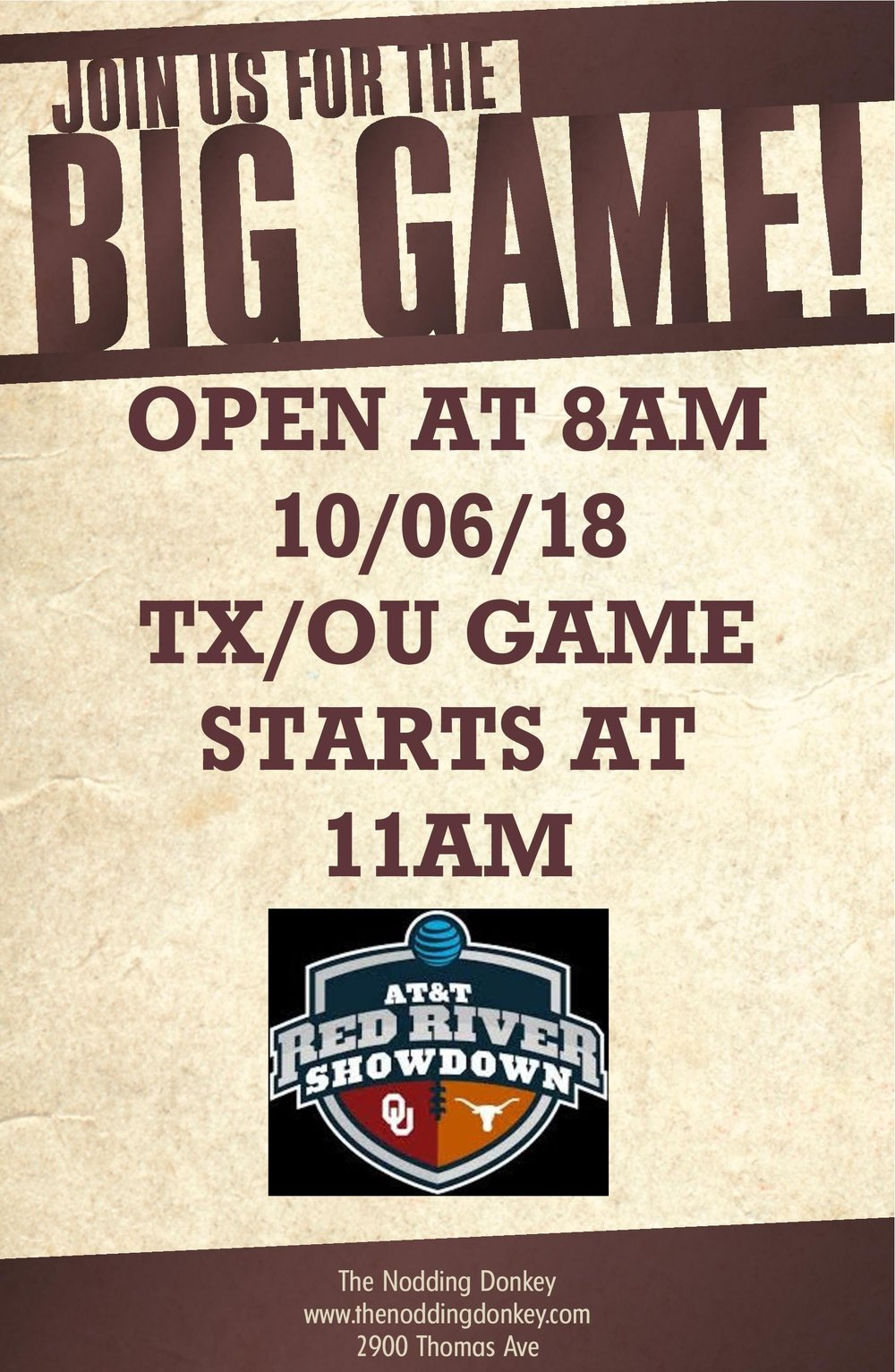 texas ou weekend