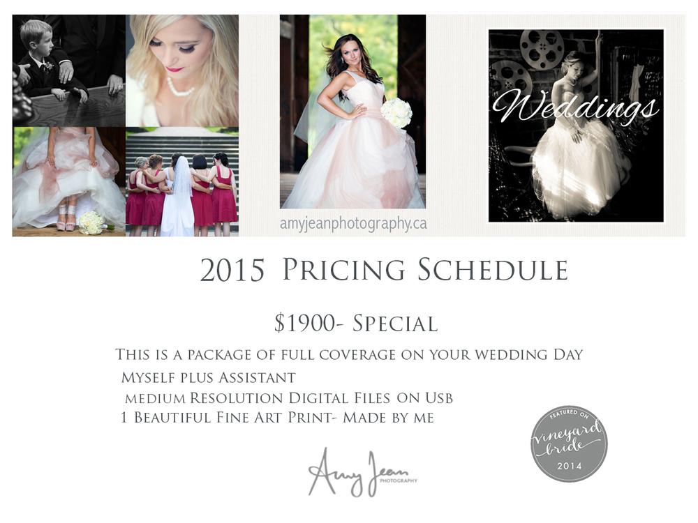 Special price-wedding