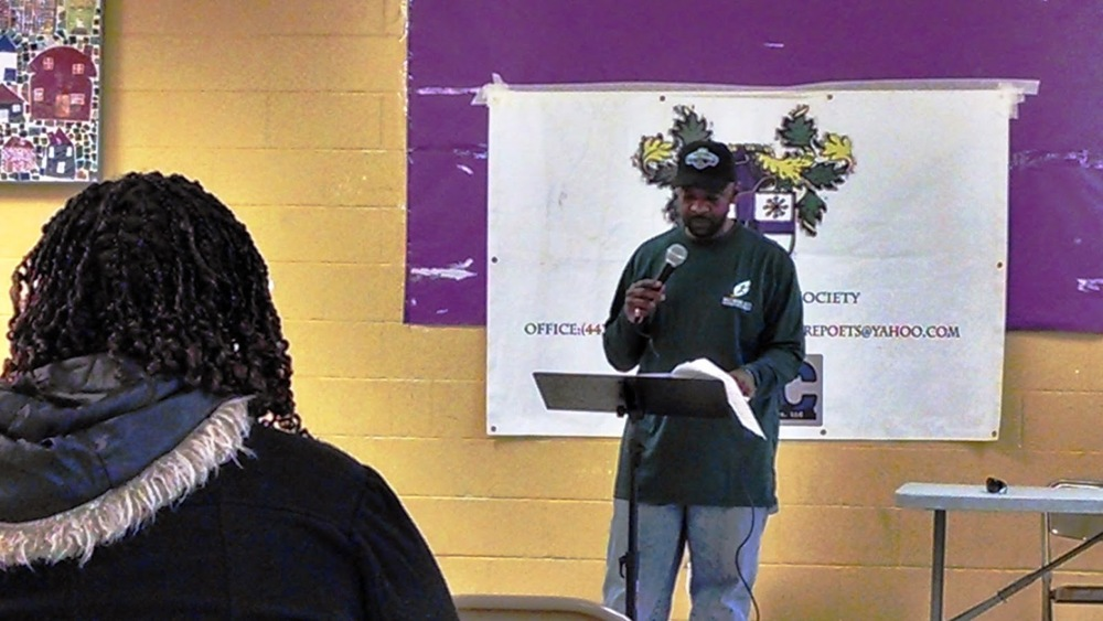 Carl Williams works at John Eager Howard Recreation Center.  If you go in and out of the recreation center much you've seen him. We here in the RHIC office certainly have.  But his powerful poem gave us a privileged peek at a part of himself we never knew about.