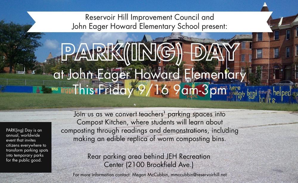 2011 Reservoir Hill Parking Day Flyer JPEG