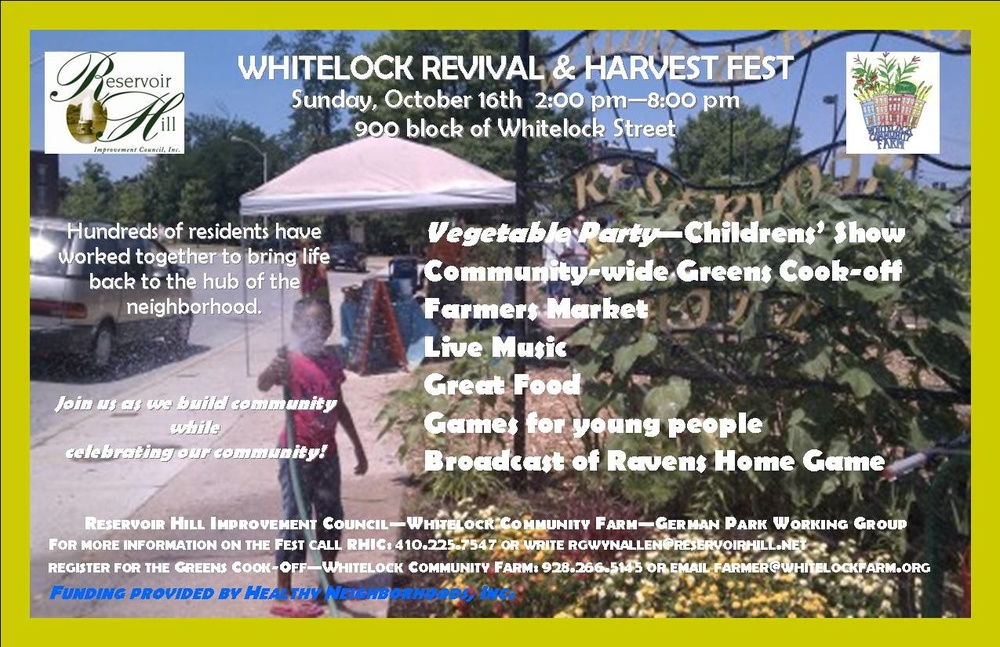 Whitelock Revival Festival Postcard