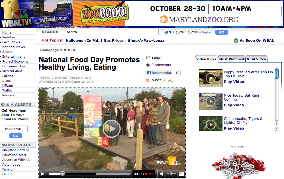 WBAL National Food Day