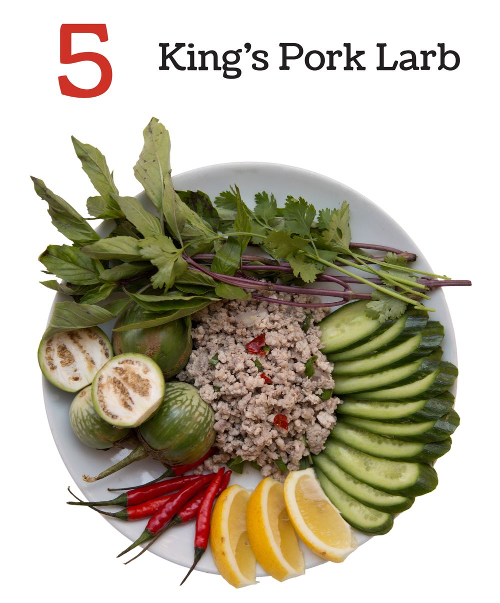 5 King's Pork Larb