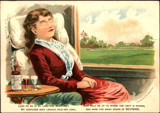bovinine trade card, 1890