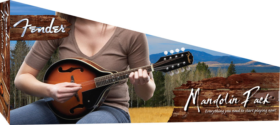 Fender Mandolin fm 52e Fender Mandolin fm 52e