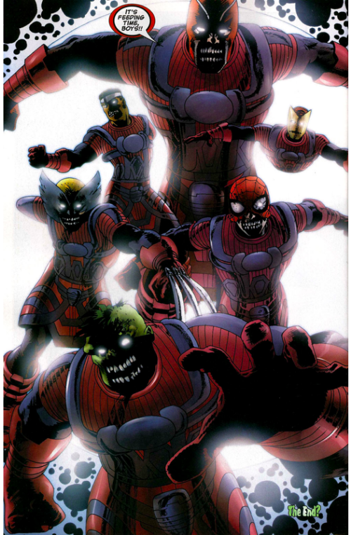 Marvel Zombies 11 Galactus Avengers Zombies.png