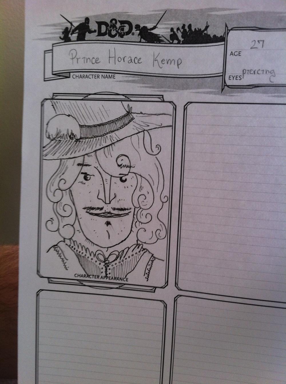 Prince Horace Kemp
