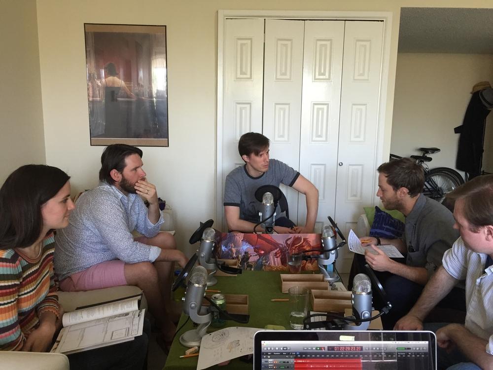 Recording Season 3 w/ Jonathan Keltz