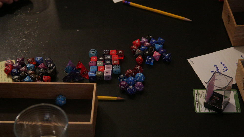 Sweeney's sea of dice