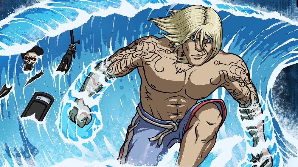 Poseidon: The Surfer