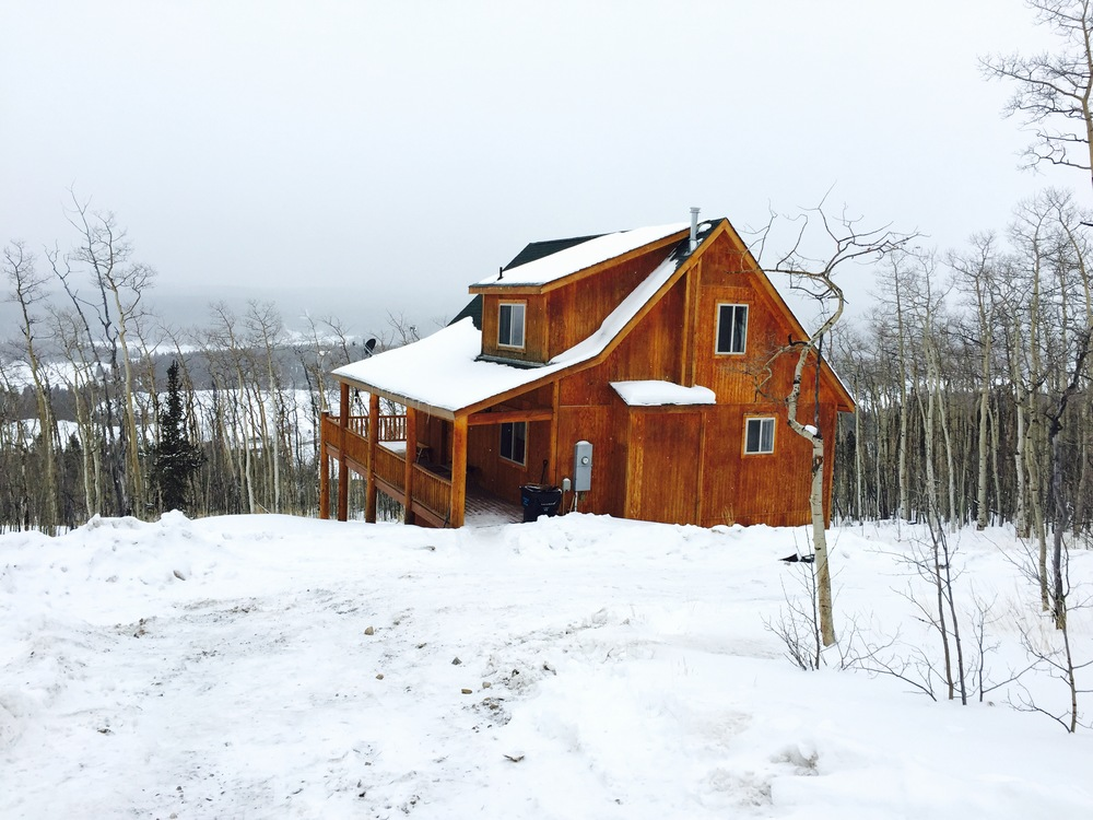 This is our family's cabin in Fairplay, Colorado just a short 25 minutes from the ski resort town of Breckenridge.