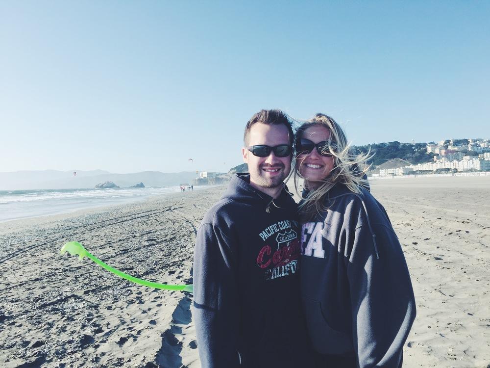 Ocean Beach - Braea & Zac
