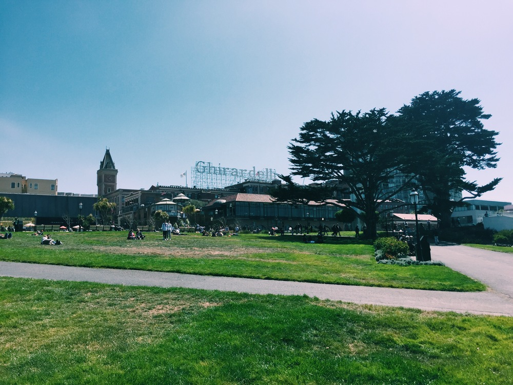 Ghirardelli - View from the Park