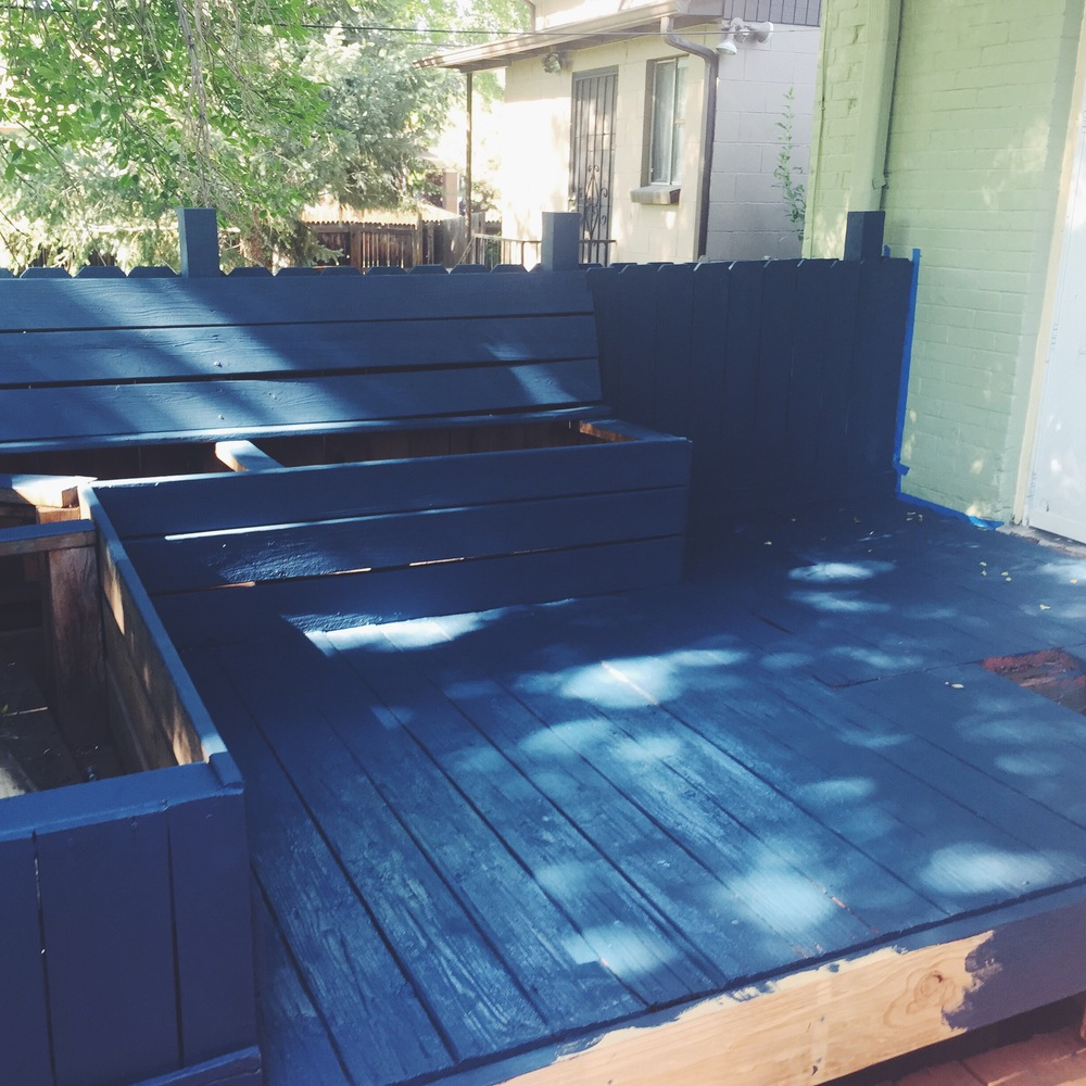 Blue Deck - In Progress