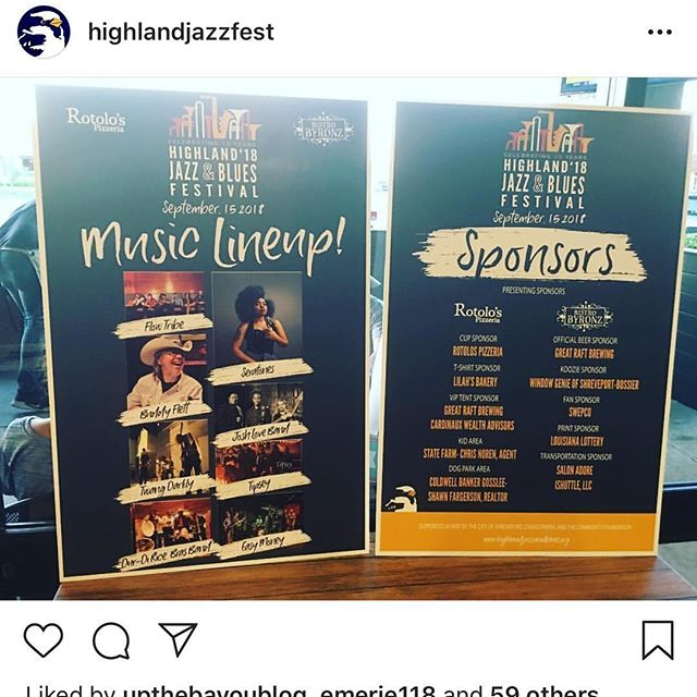 Guess what's going on right now... 😎@highlandjazzfest