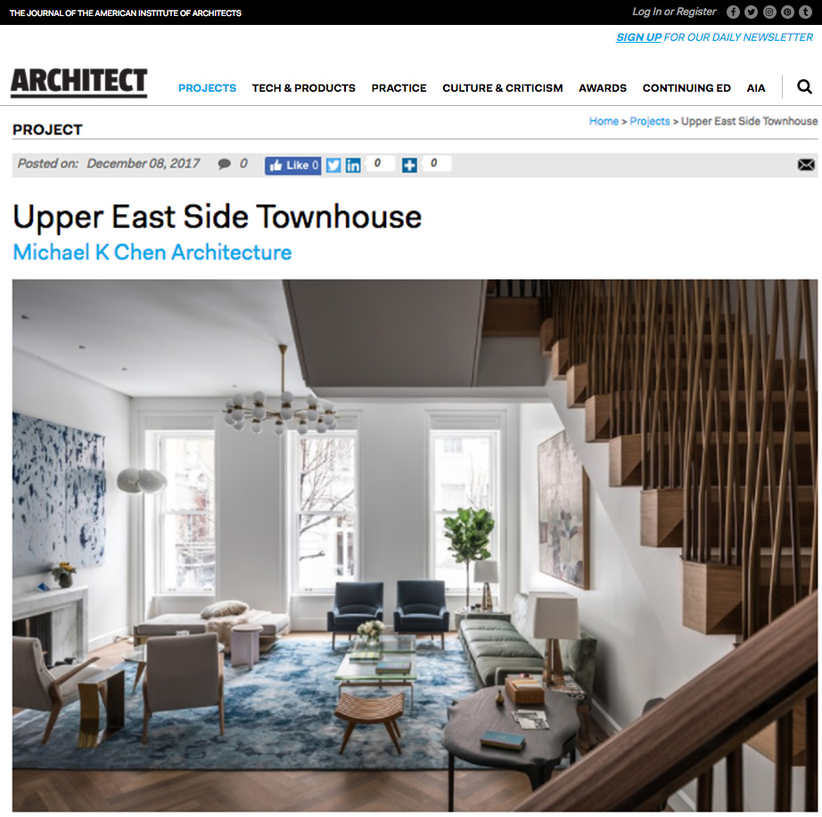 2017 Residential Architect Design Awards — NYC General Contractor ...