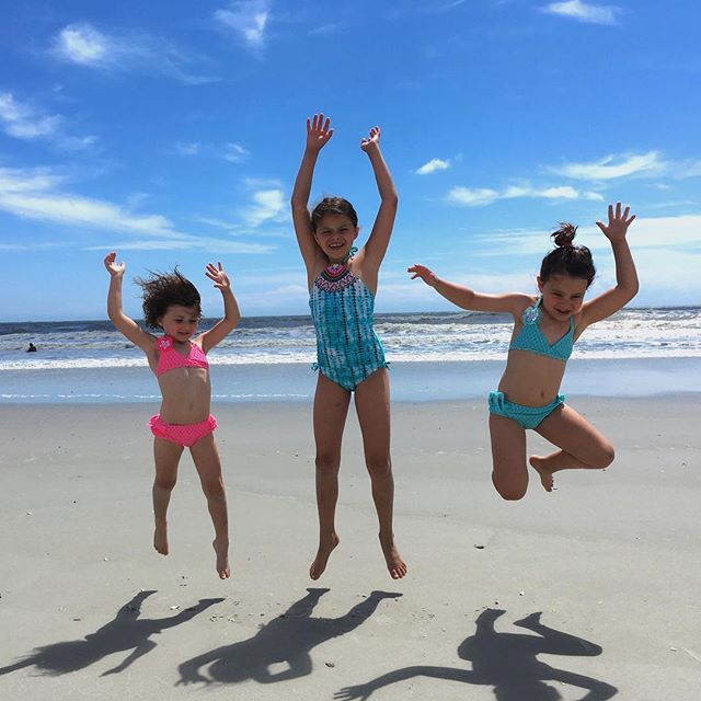 jumpin' into #june like...💥 . . . . #swimwear #girlsswim #kidsfashion #summer #schoolsout